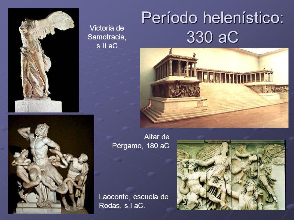 Período helenístico: 330 aC