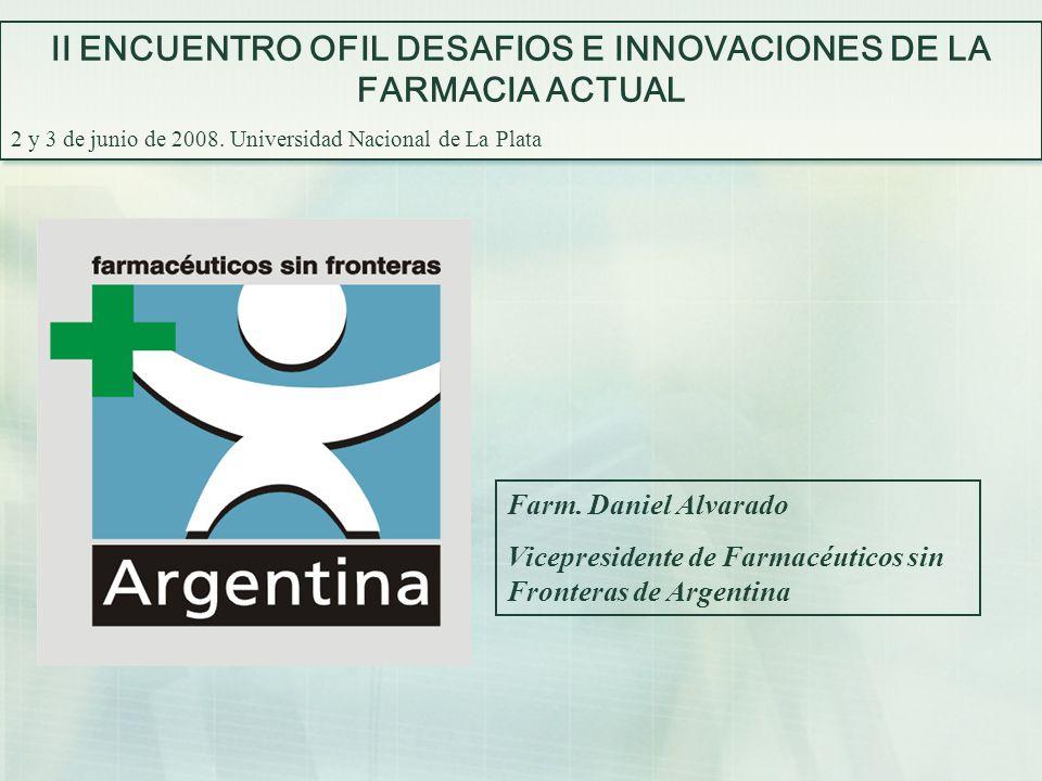 II ENCUENTRO OFIL DESAFIOS E INNOVACIONES DE LA FARMACIA ACTUAL