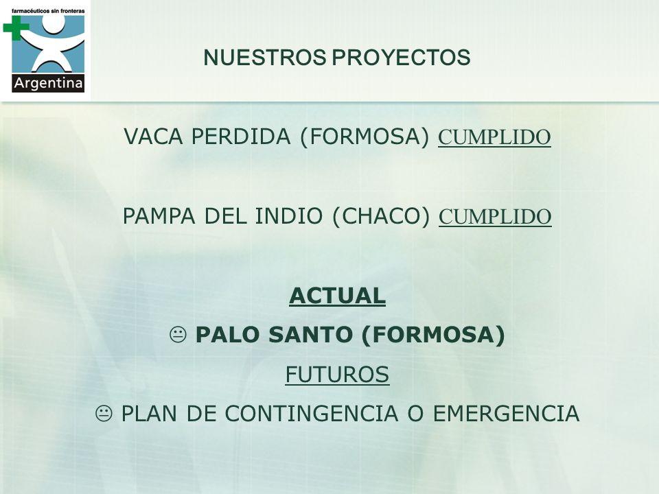 VACA PERDIDA (FORMOSA) CUMPLIDO