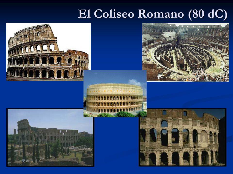 El Coliseo Romano (80 dC)