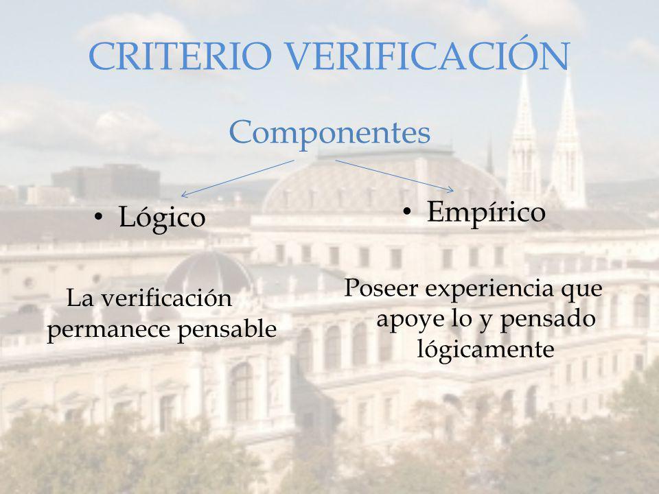 CRITERIO VERIFICACIÓN