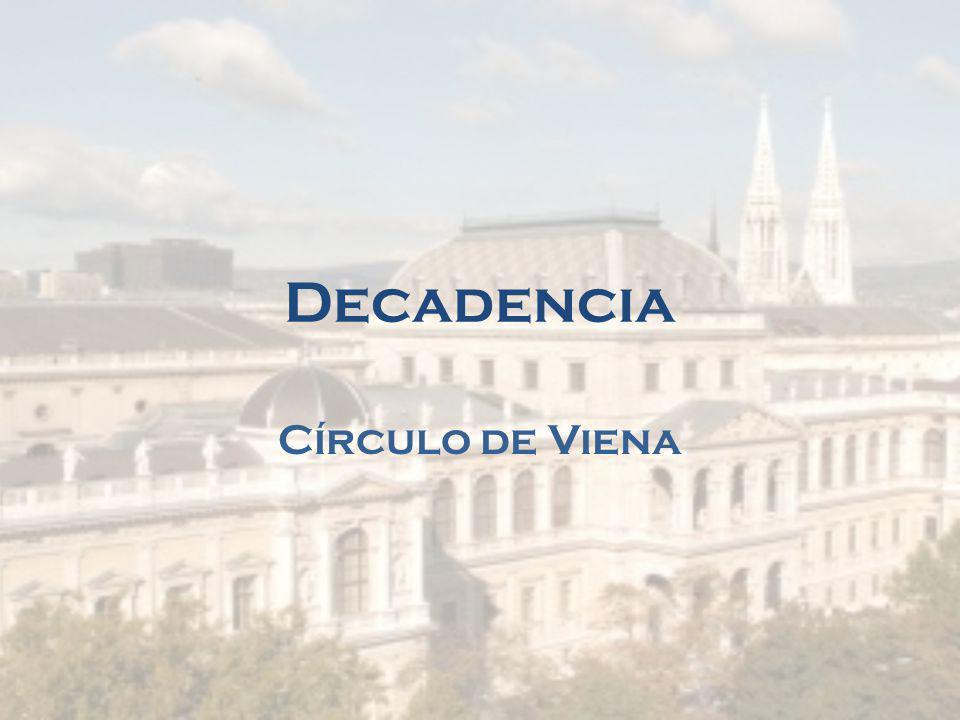 Decadencia Círculo de Viena