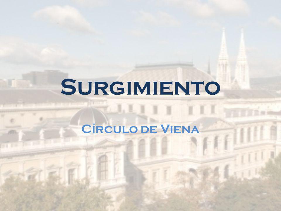 Surgimiento Círculo de Viena