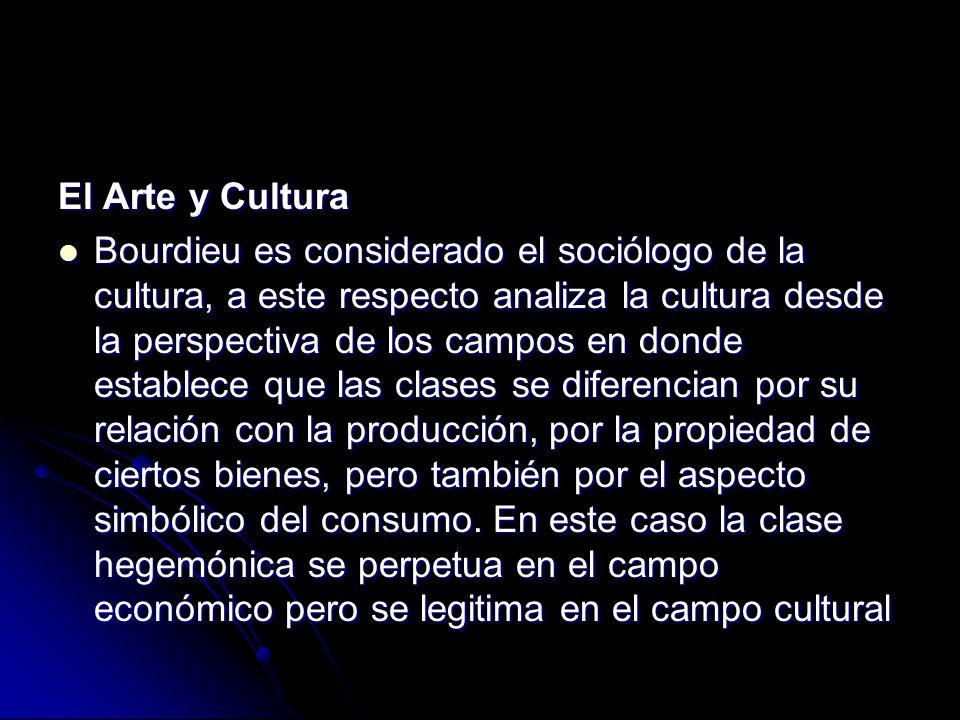 El Arte y Cultura