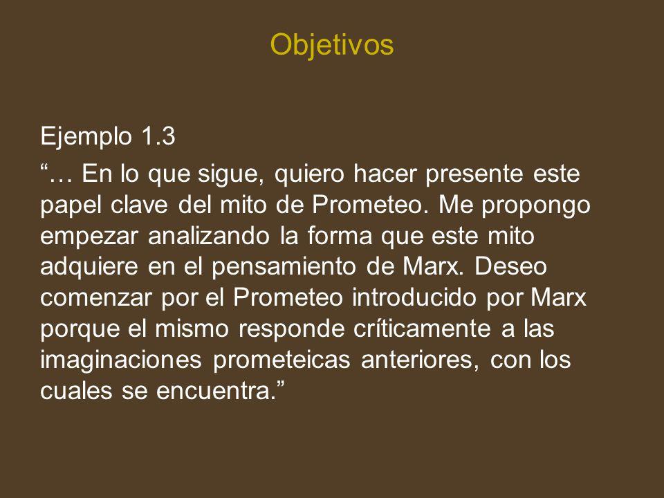 Objetivos Ejemplo 1.3.