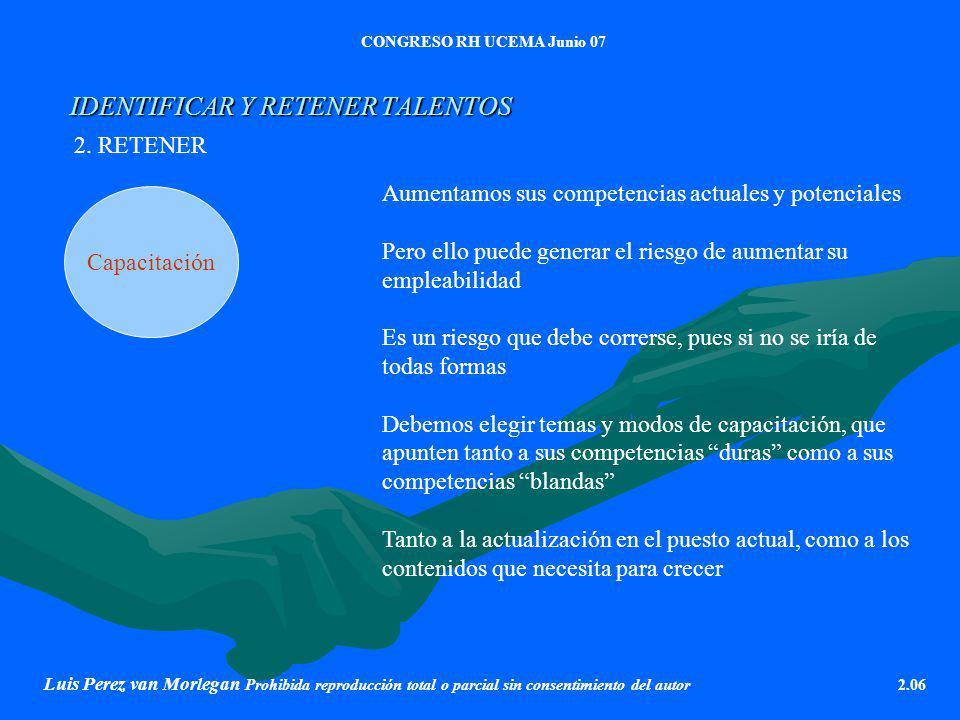 IDENTIFICAR Y RETENER TALENTOS