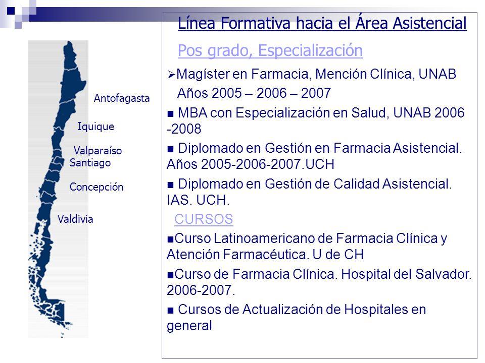 MBA con Especialización en Salud, UNAB 2006 -2008