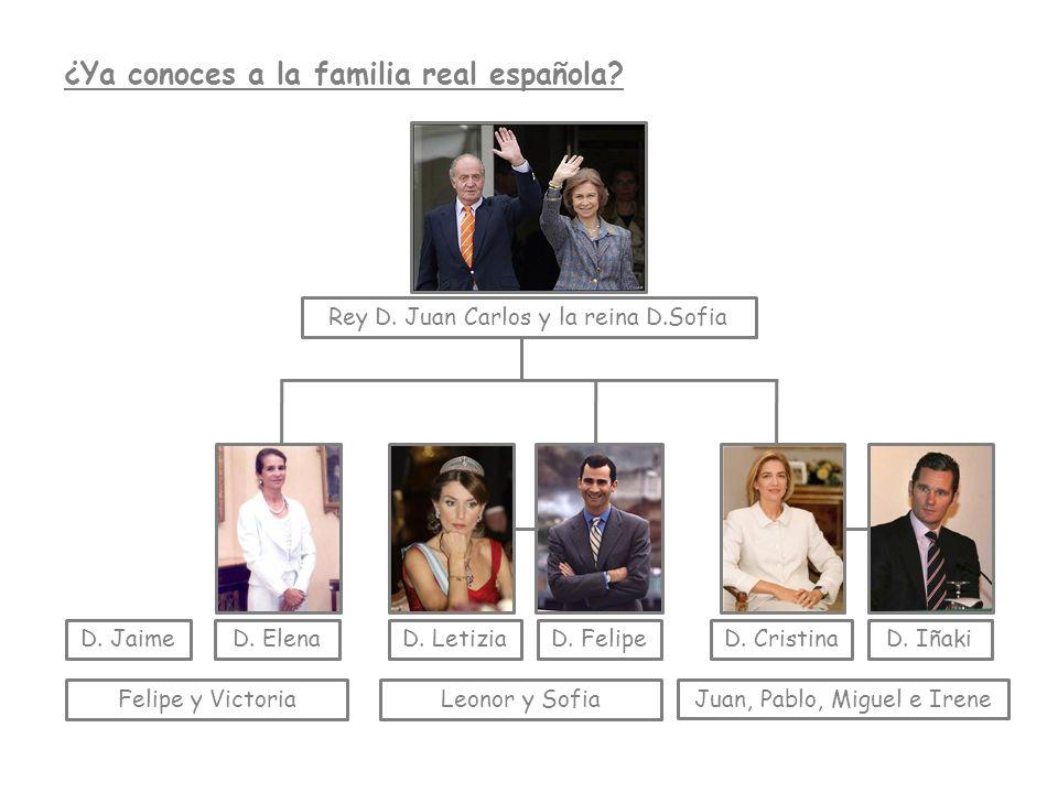 ¿Ya conoces a la familia real española