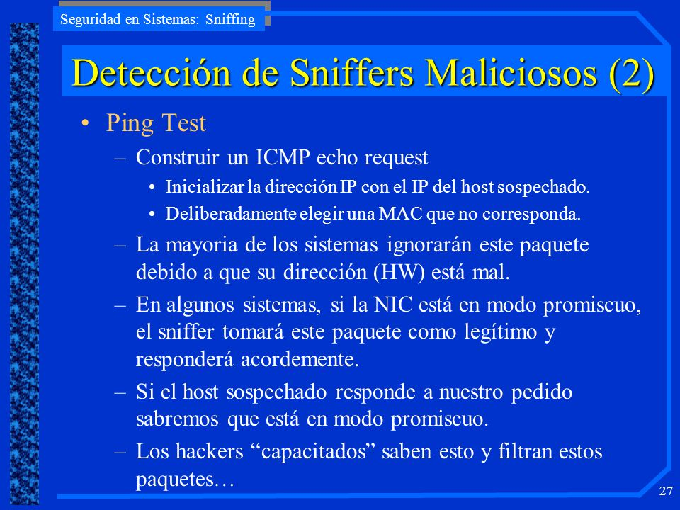 Detección de Sniffers Maliciosos (2)