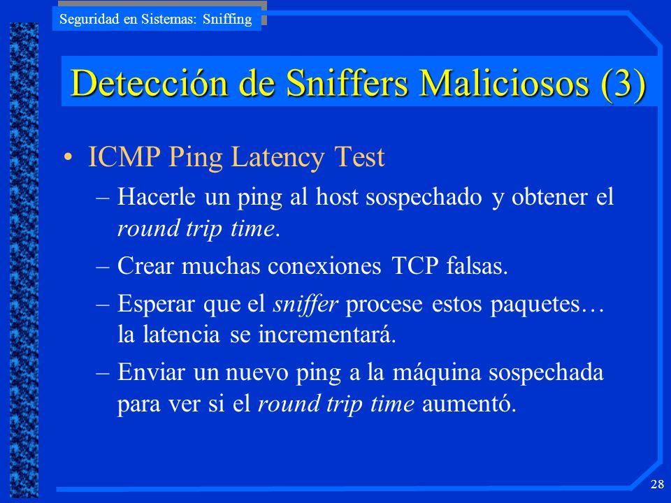 Detección de Sniffers Maliciosos (3)