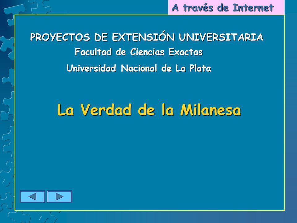 Facultad de Ciencias Exactas Universidad Nacional de La Plata