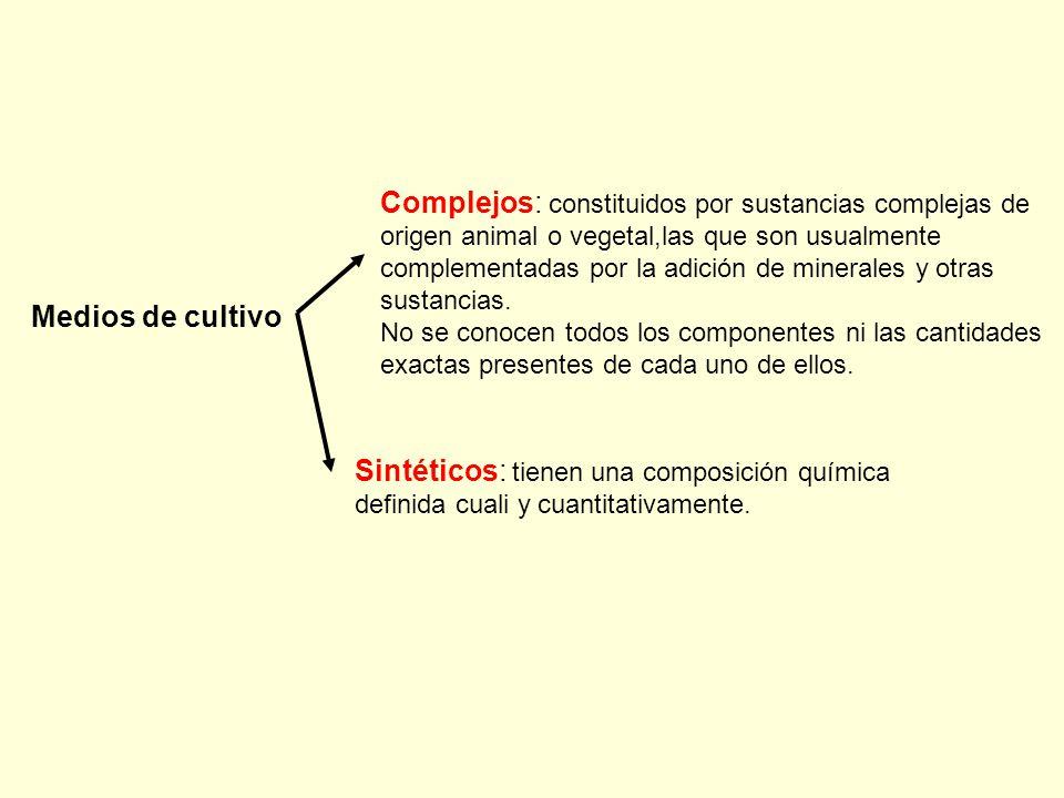 Sintéticos: tienen una composición química