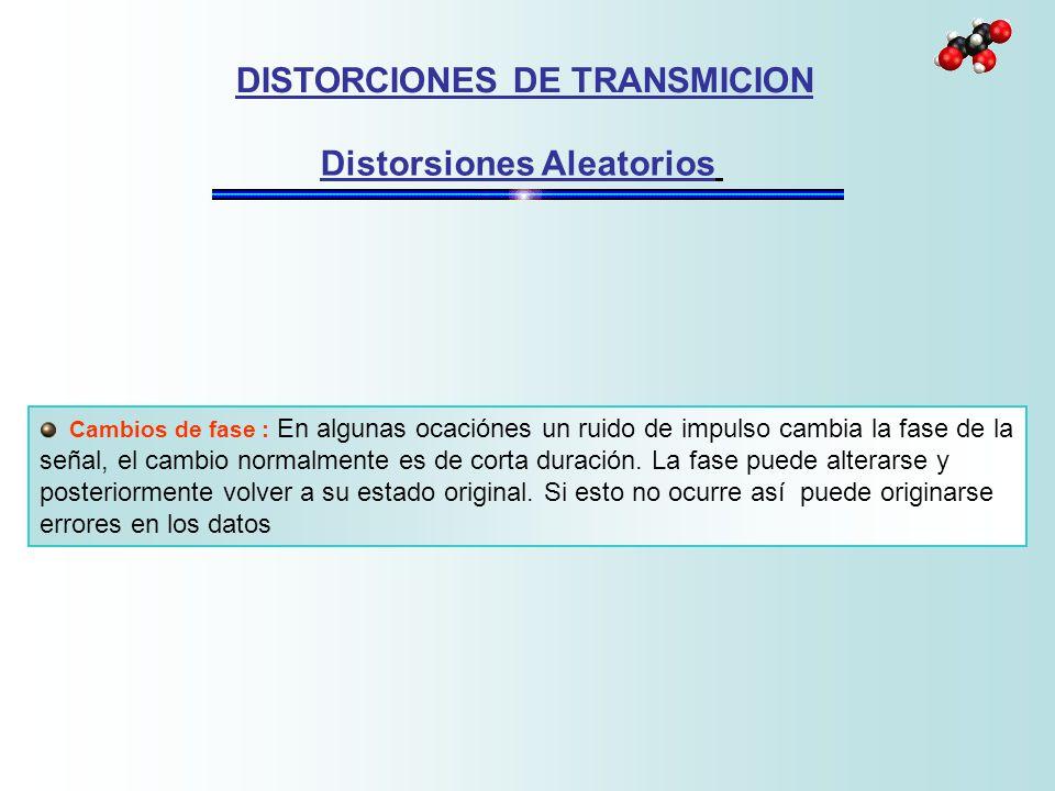 DISTORCIONES DE TRANSMICION