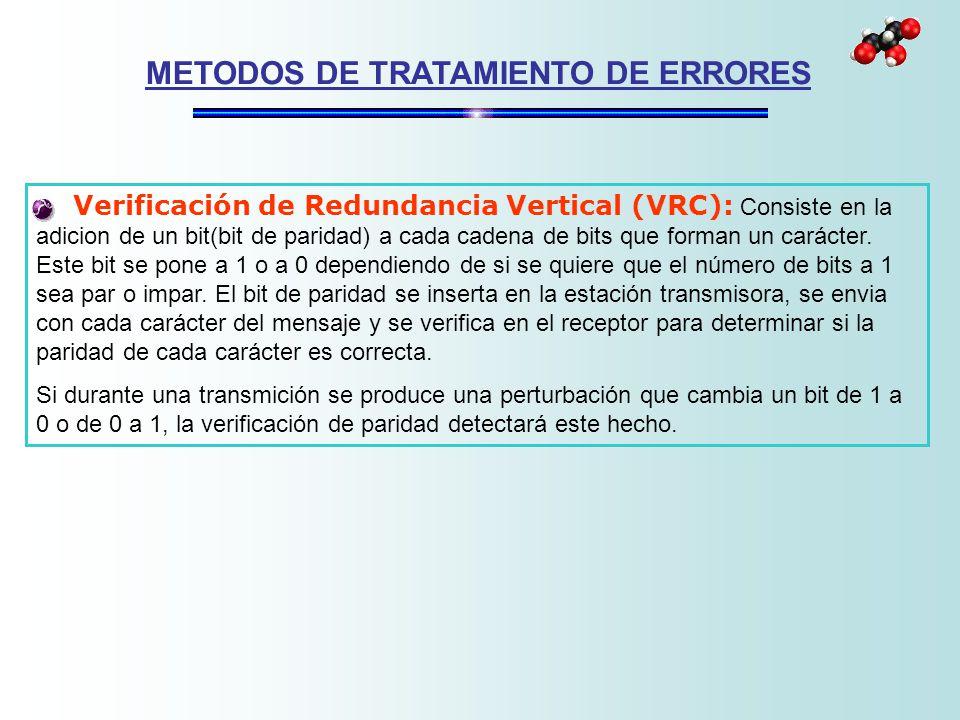 METODOS DE TRATAMIENTO DE ERRORES