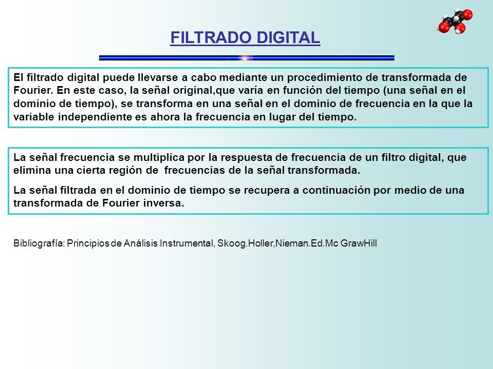 FILTRADO DIGITAL