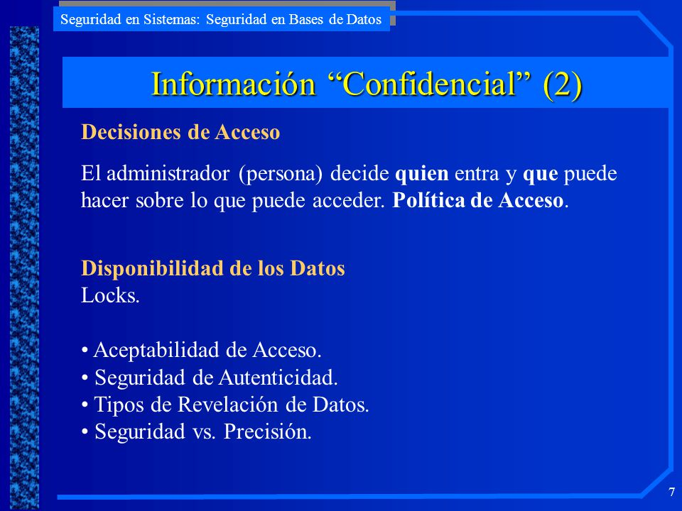 Información Confidencial (2)
