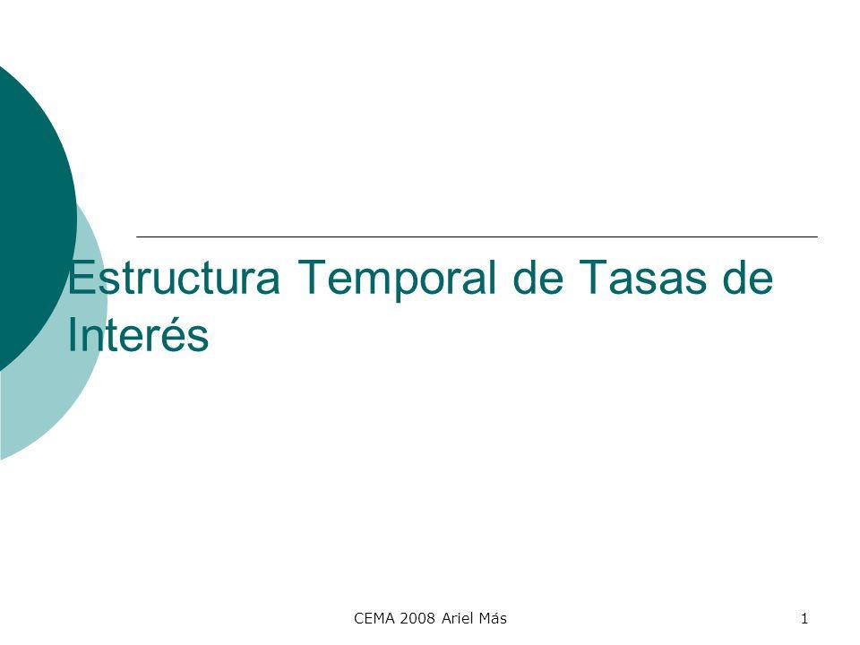 Estructura Temporal de Tasas de Interés