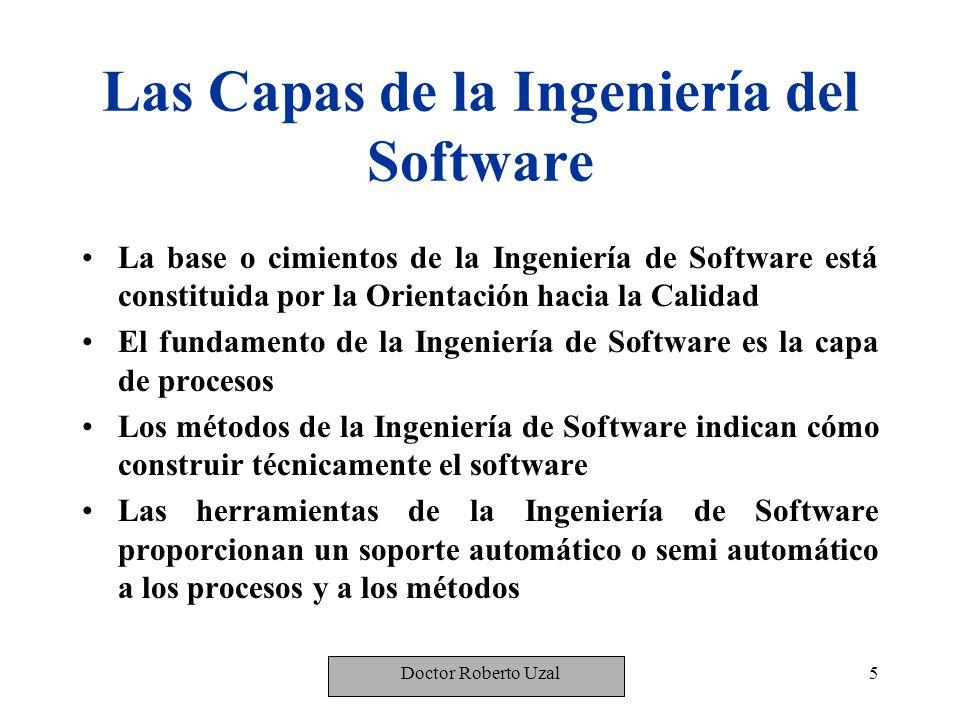 Las Capas de la Ingeniería del Software