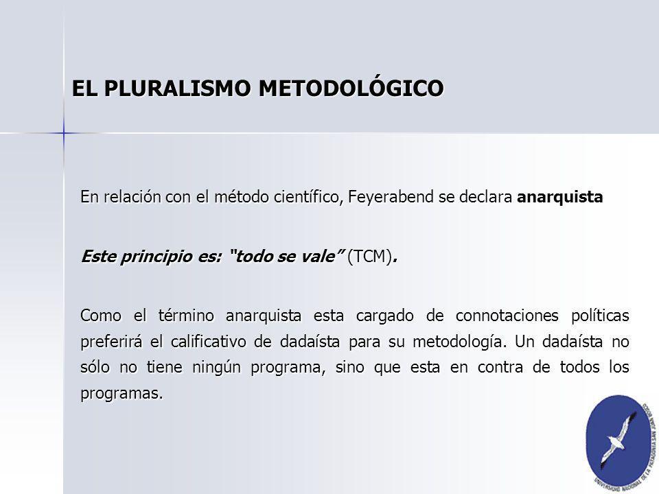 EL PLURALISMO METODOLÓGICO