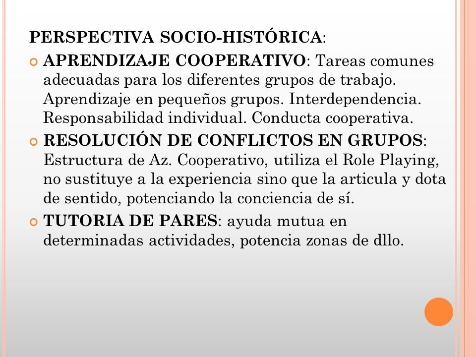 PERSPECTIVA SOCIO-HISTÓRICA: