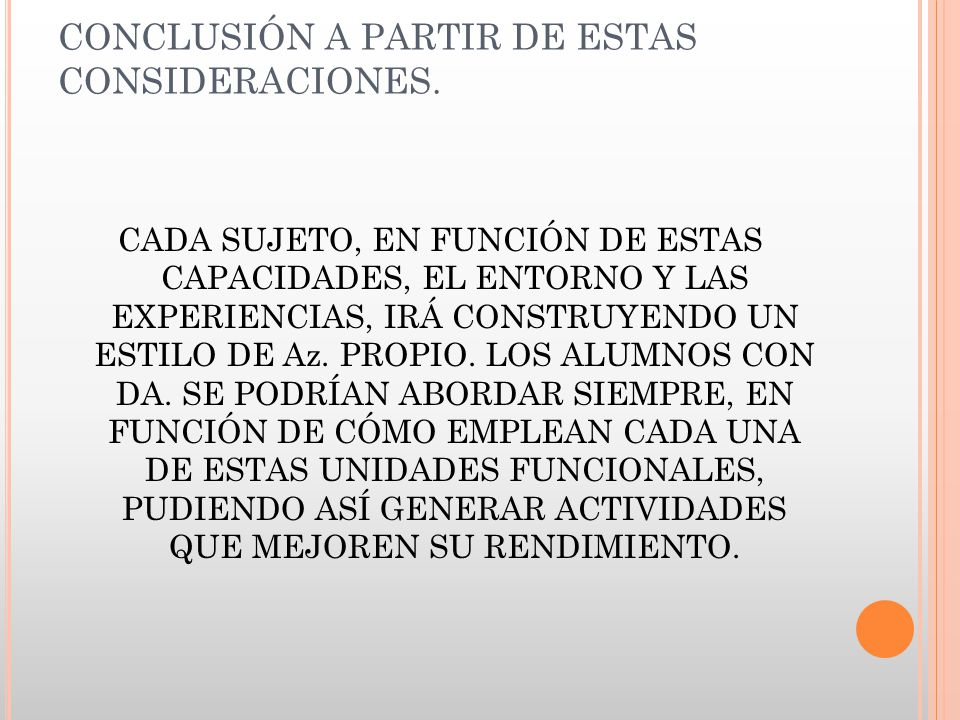 CONCLUSIÓN A PARTIR DE ESTAS CONSIDERACIONES.