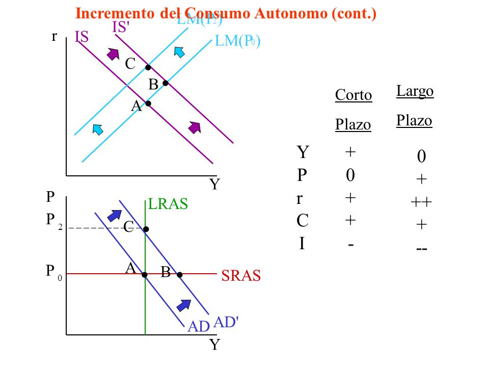 Incremento del Consumo Autonomo (cont.)