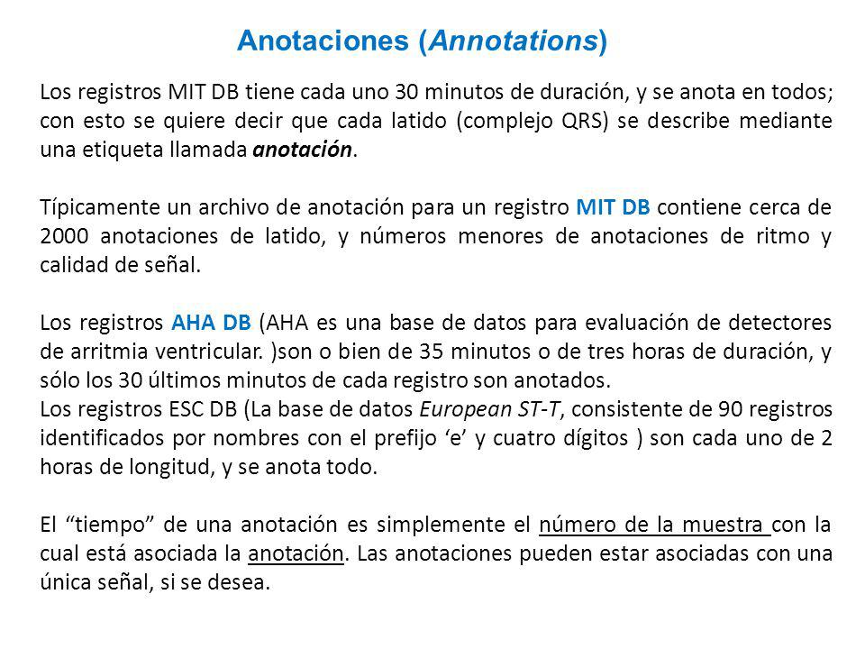 Anotaciones (Annotations)