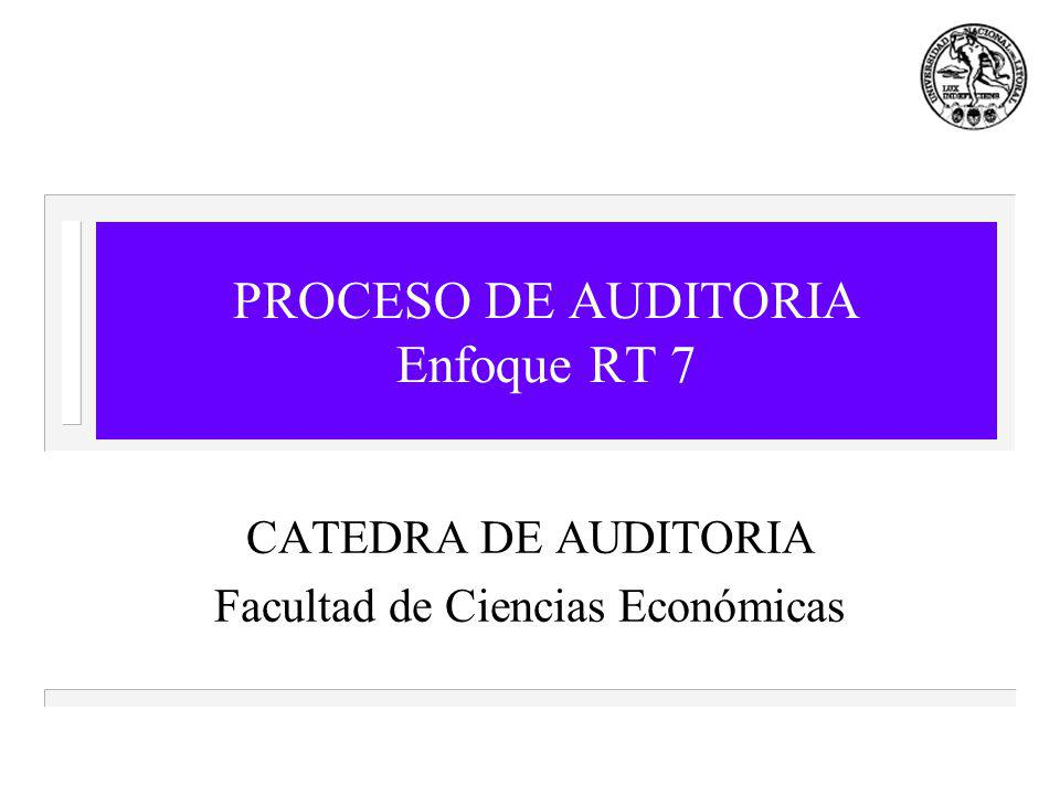 PROCESO DE AUDITORIA Enfoque RT 7