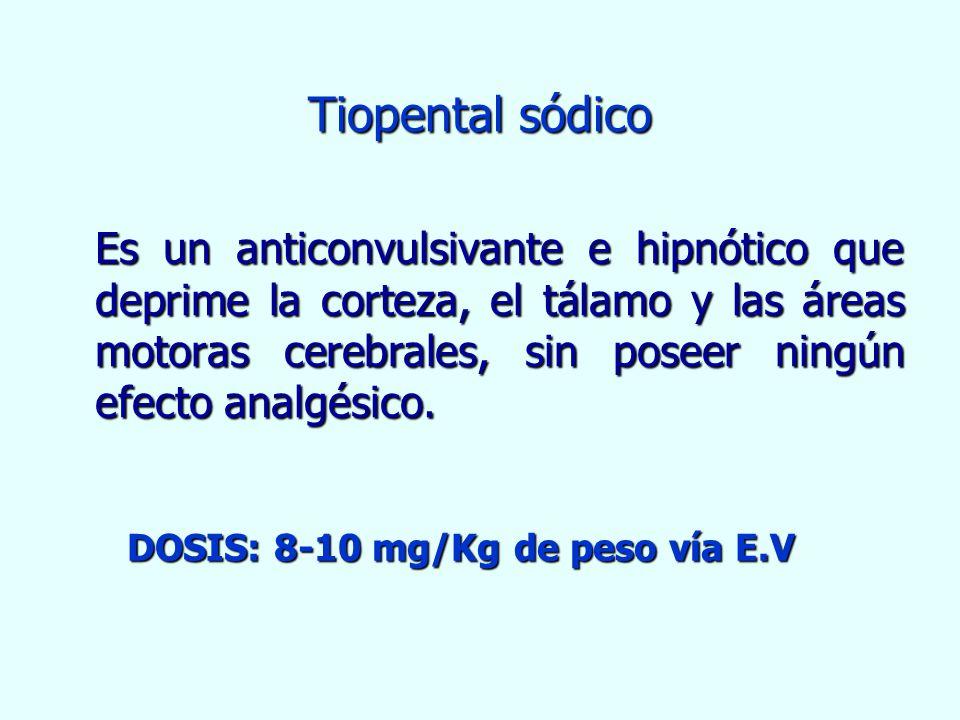 Tiopental sódico