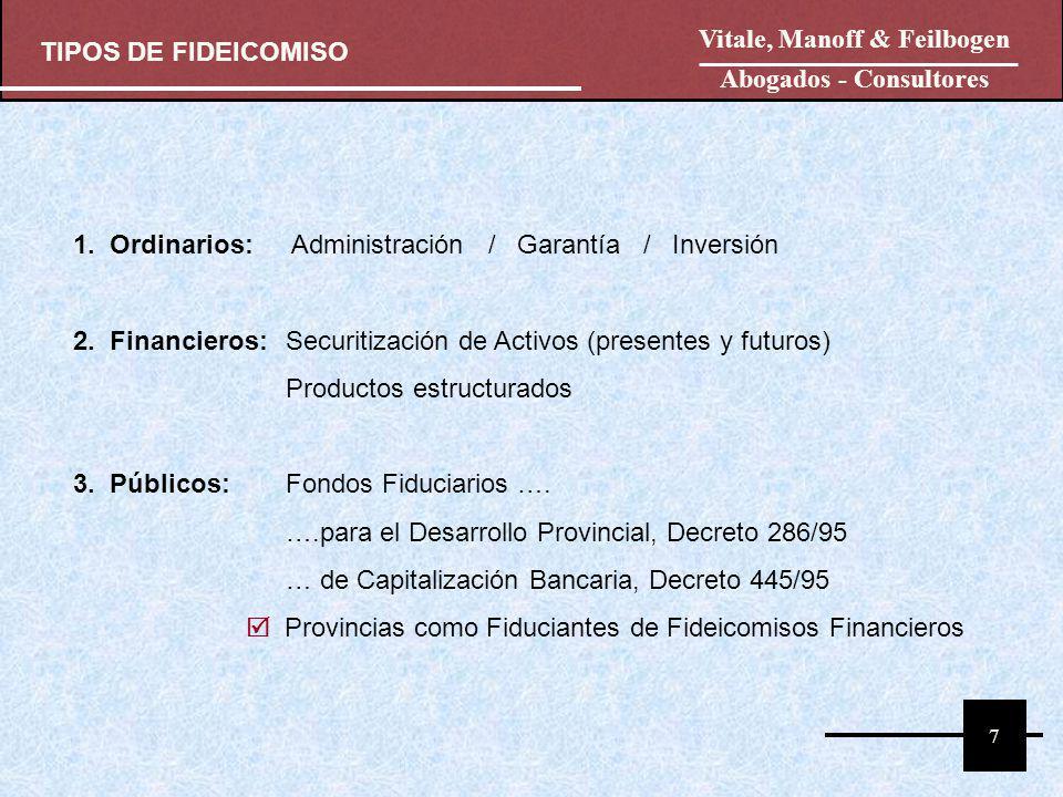 Vitale, Manoff & Feilbogen Abogados - Consultores