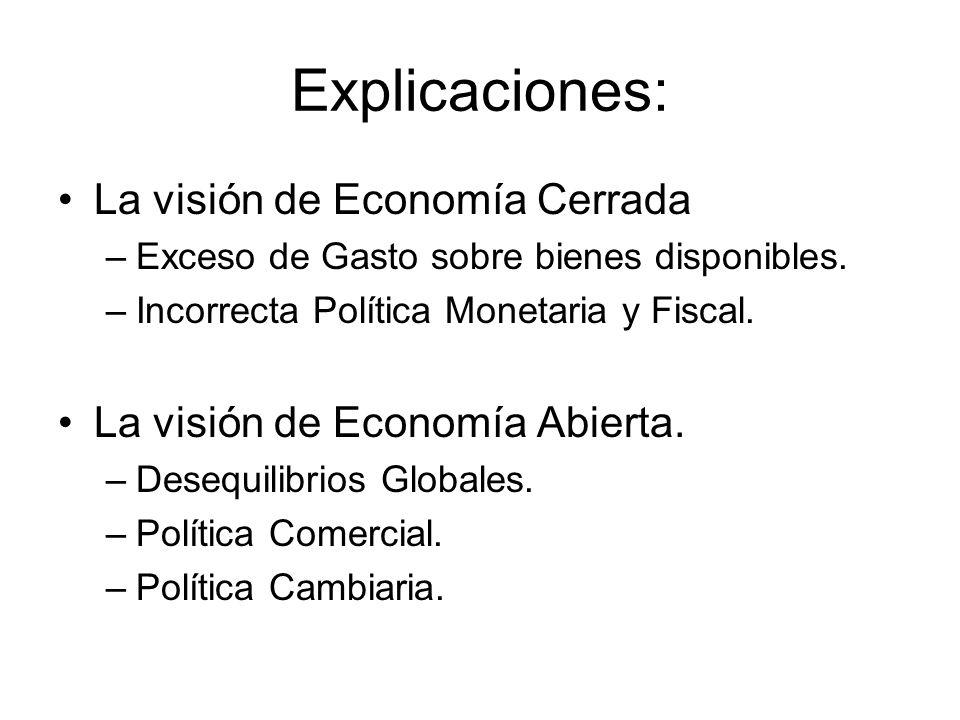 Explicaciones: La visión de Economía Cerrada