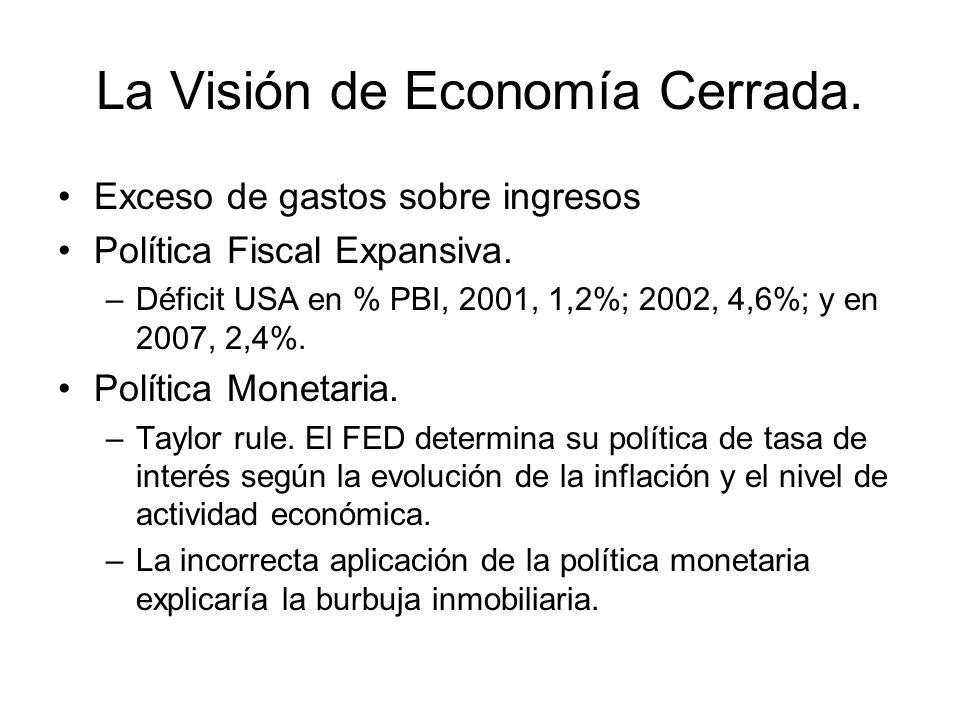 La Visión de Economía Cerrada.