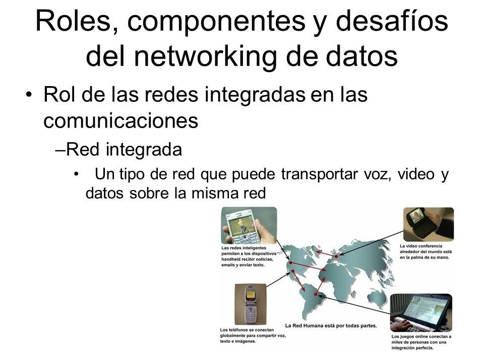 Roles, componentes y desafíos del networking de datos