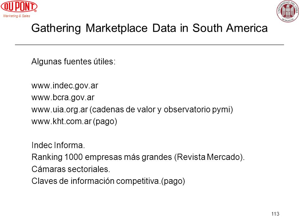 Gathering Marketplace Data in South America