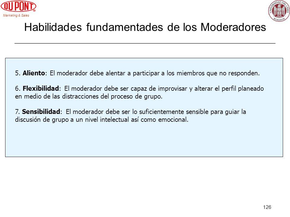 Habilidades fundamentades de los Moderadores
