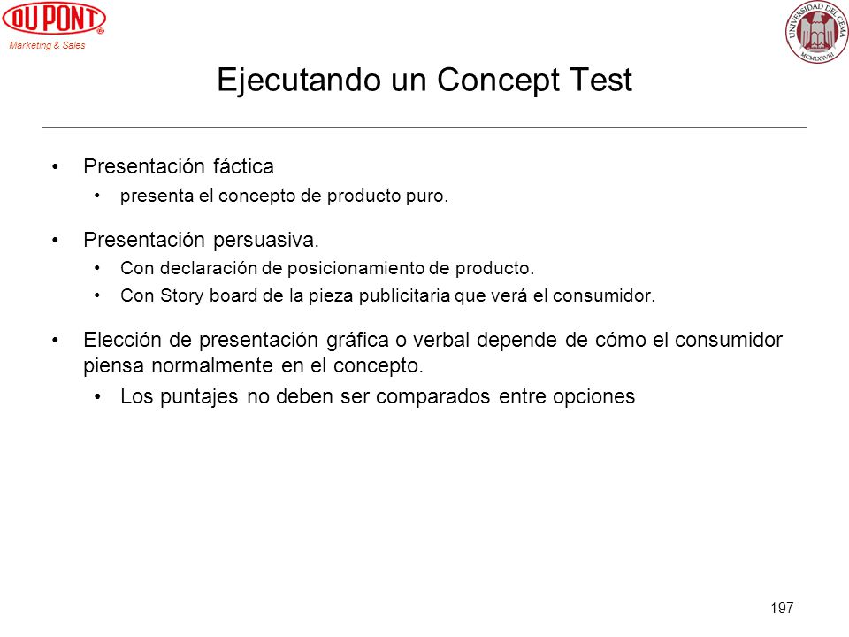 Ejecutando un Concept Test