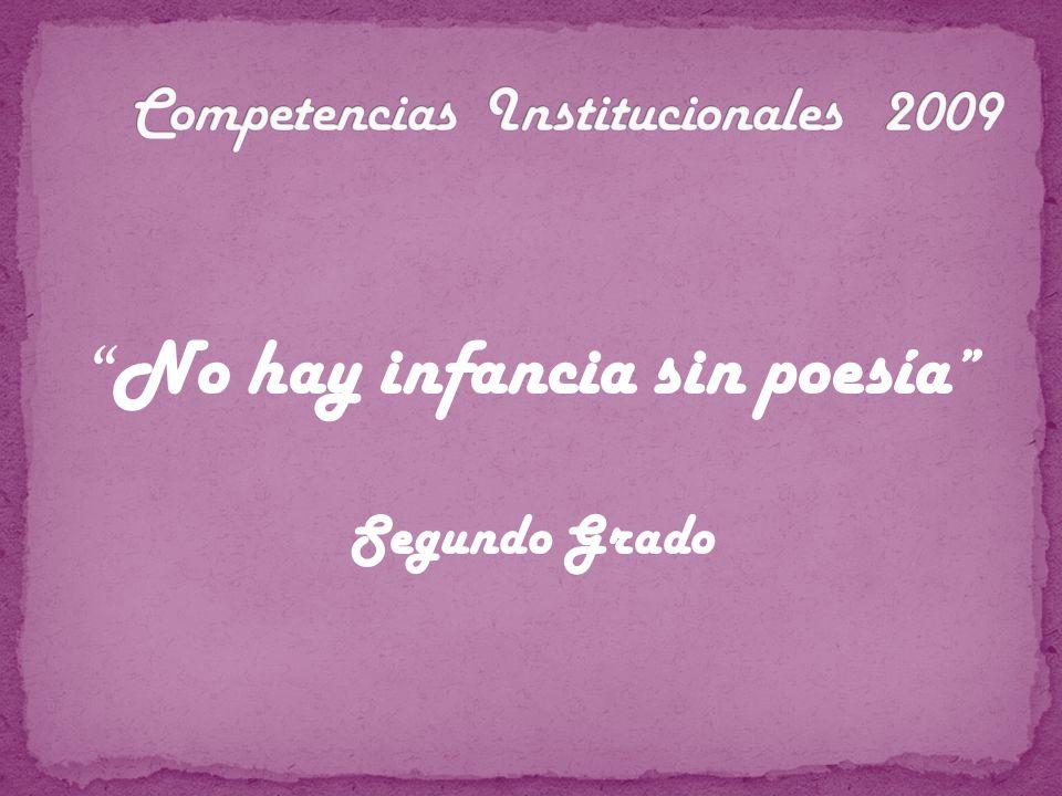 Competencias Institucionales 2009