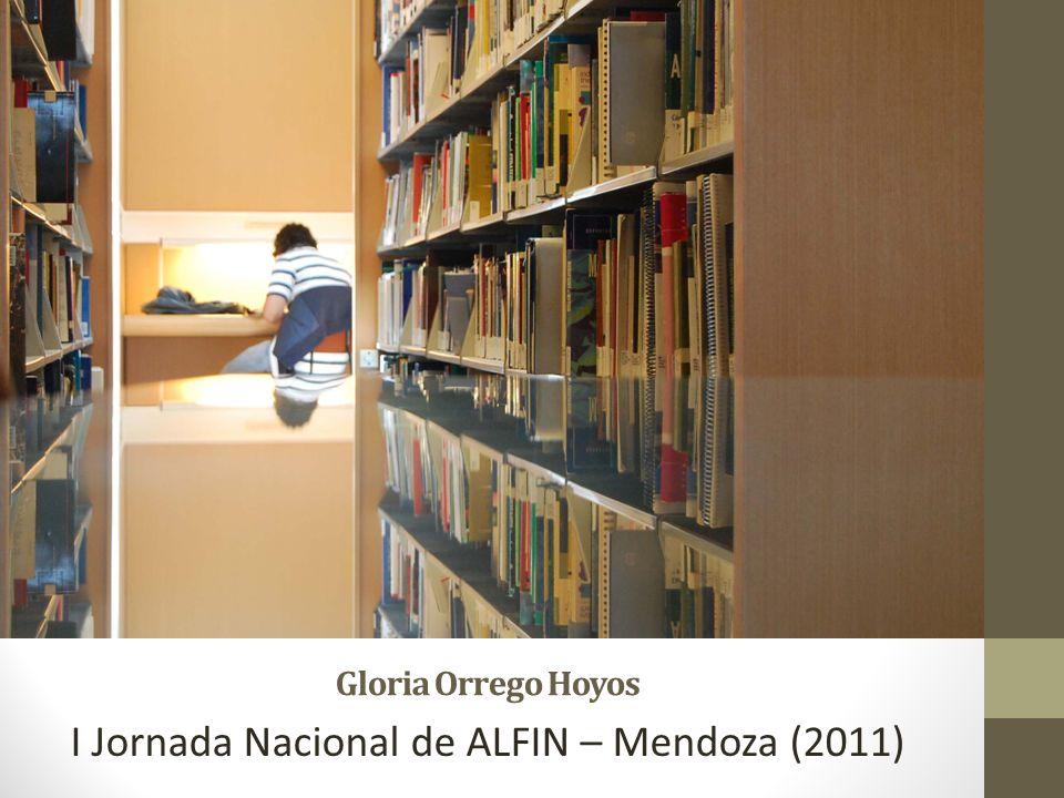 I Jornada Nacional de ALFIN – Mendoza (2011)