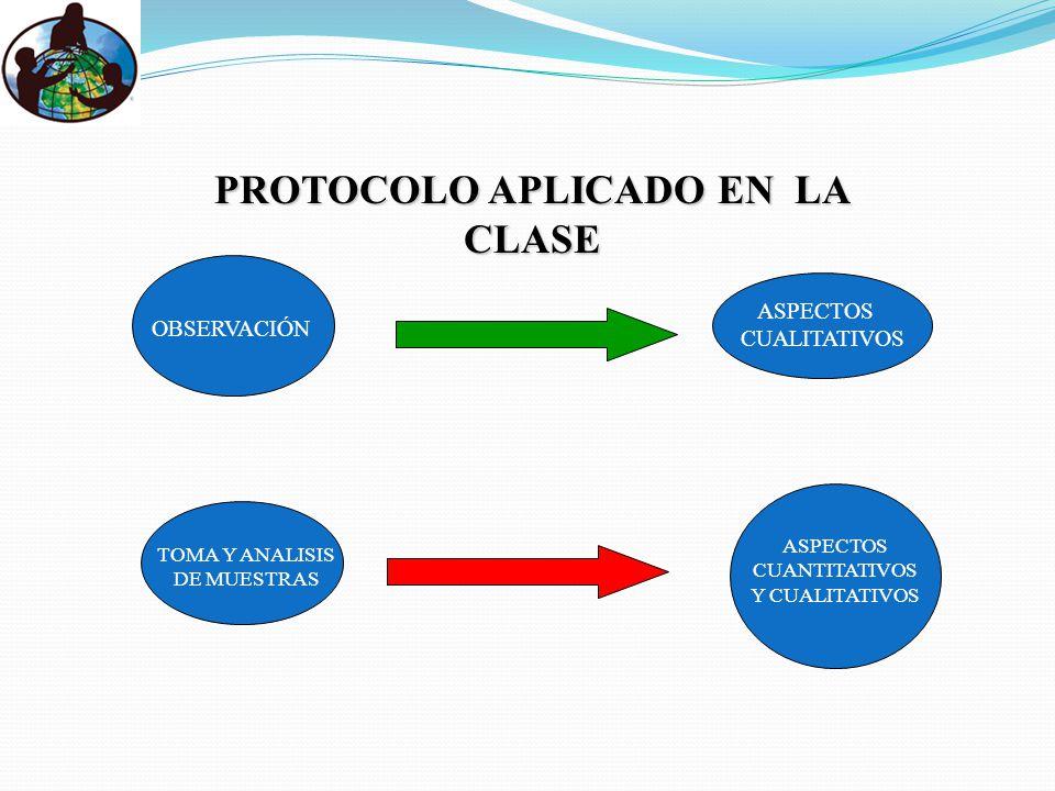 PROTOCOLO APLICADO EN LA CLASE