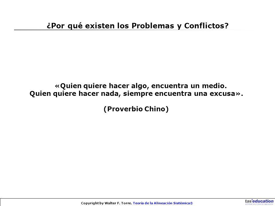 ¿Por qué existen los Problemas y Conflictos