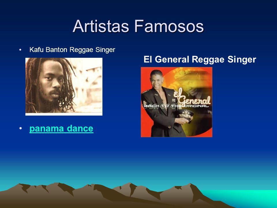 Artistas Famosos El General Reggae Singer panama dance