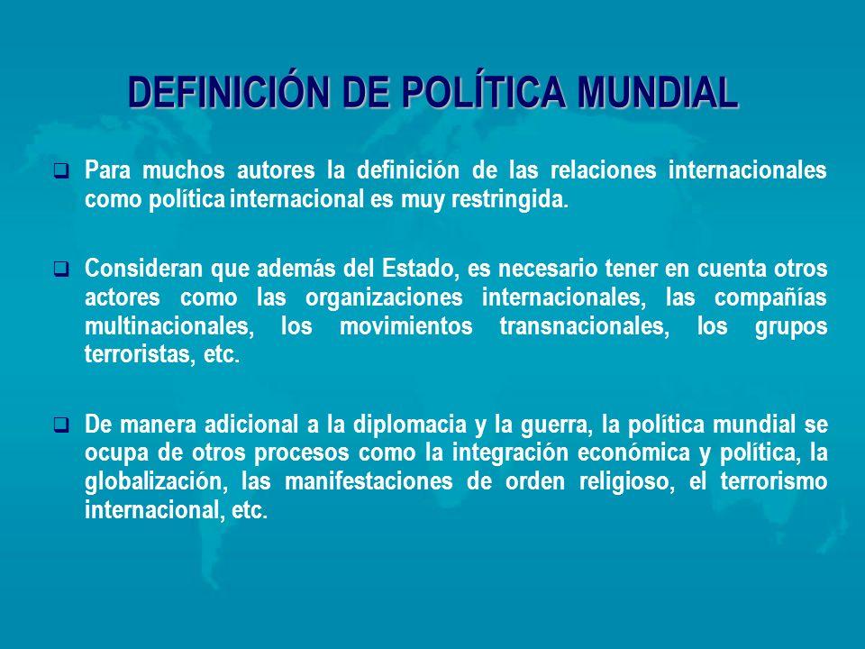 el prop sito de las relaciones internacionales ppt descargar