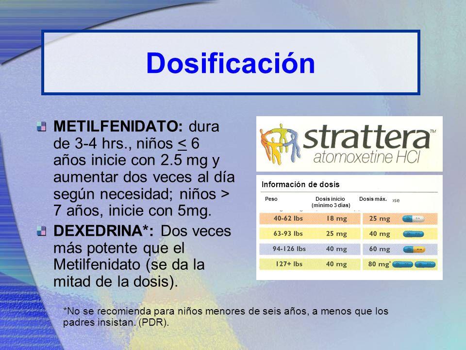 Dosificación