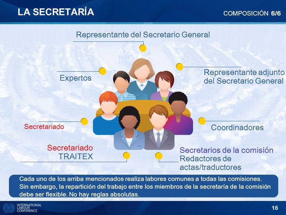 Representante del Secretario General