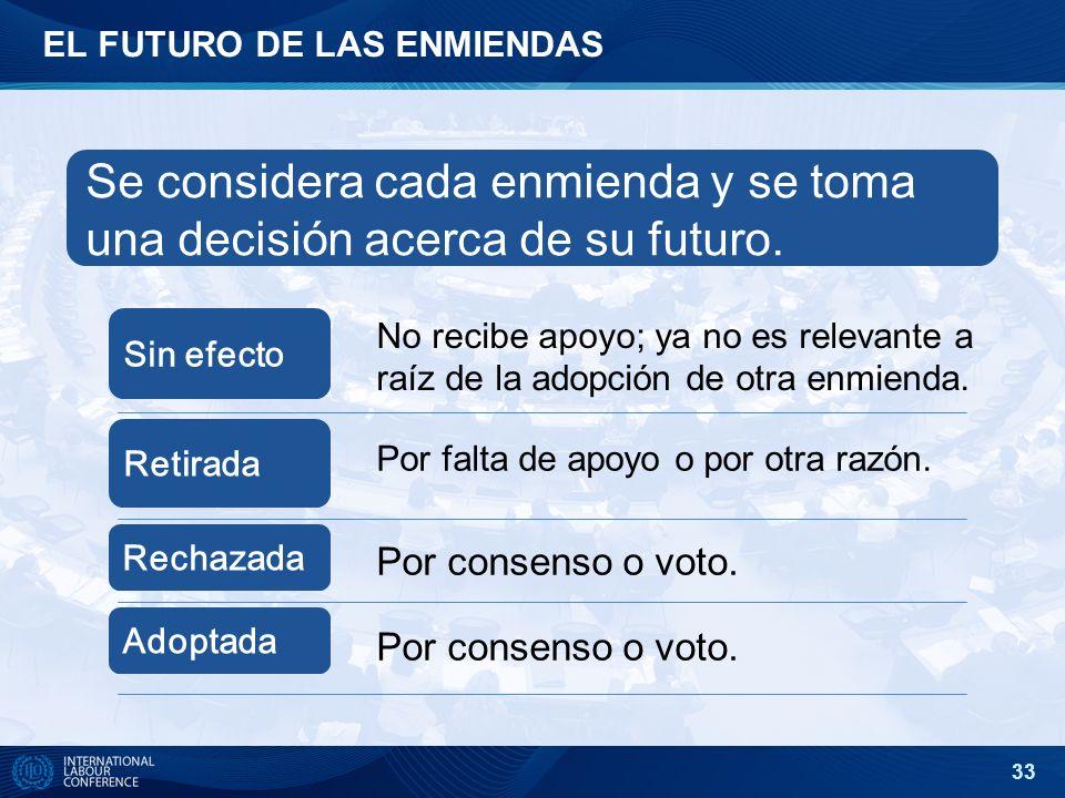 EL FUTURO DE LAS ENMIENDAS
