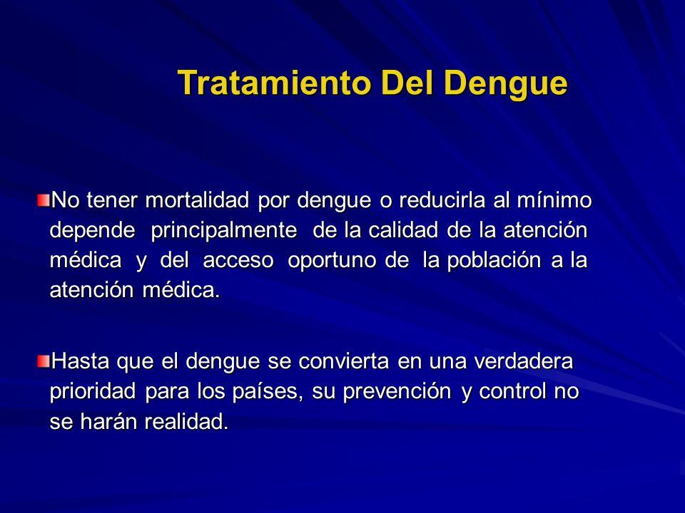 Tratamiento Del Dengue