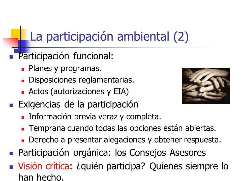 La participación ambiental (2)