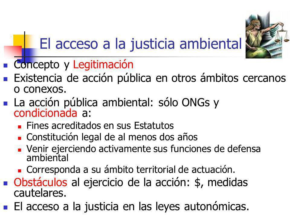 El acceso a la justicia ambiental