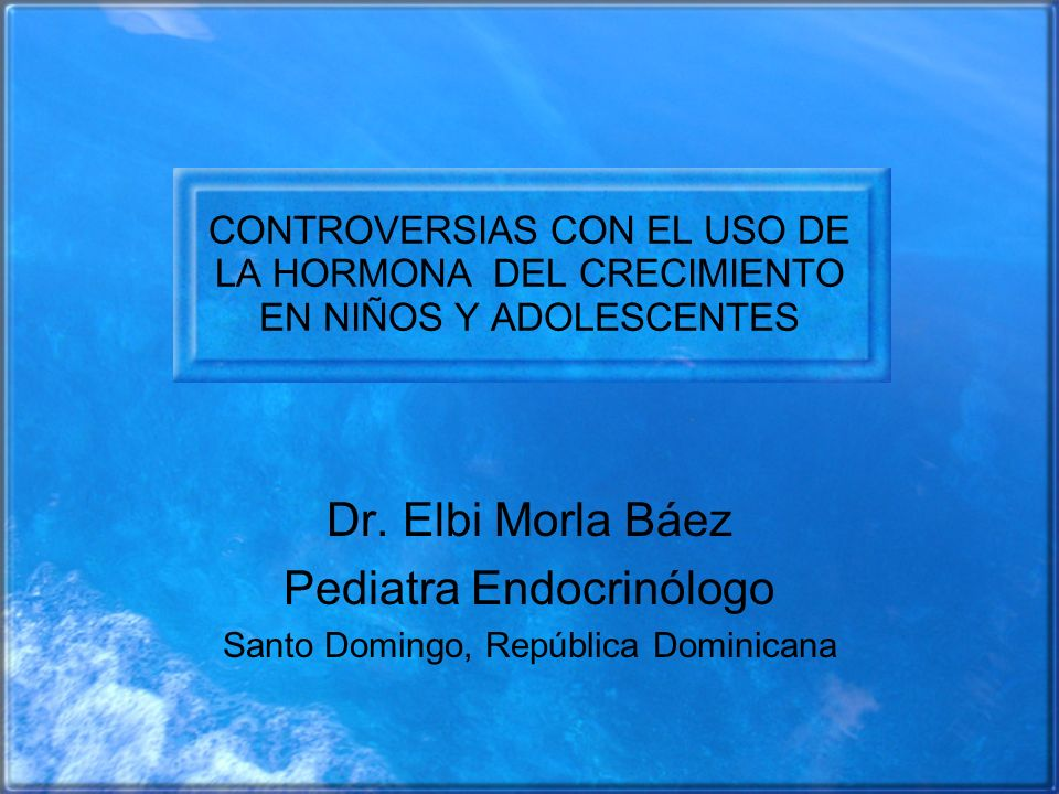 Pediatra Endocrinólogo