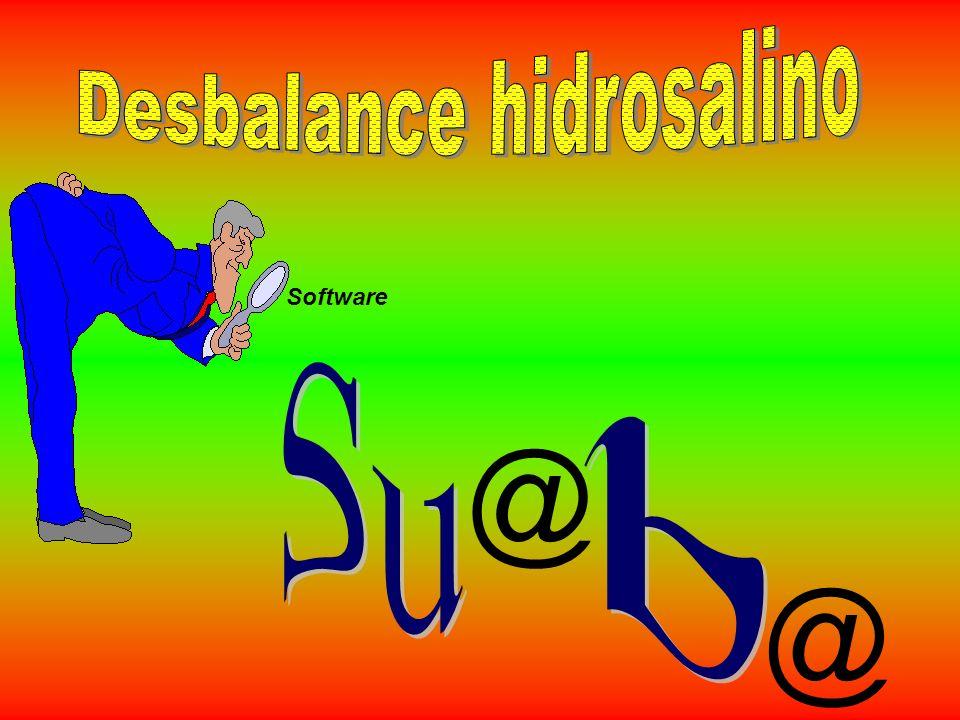 Desbalance hidrosalino